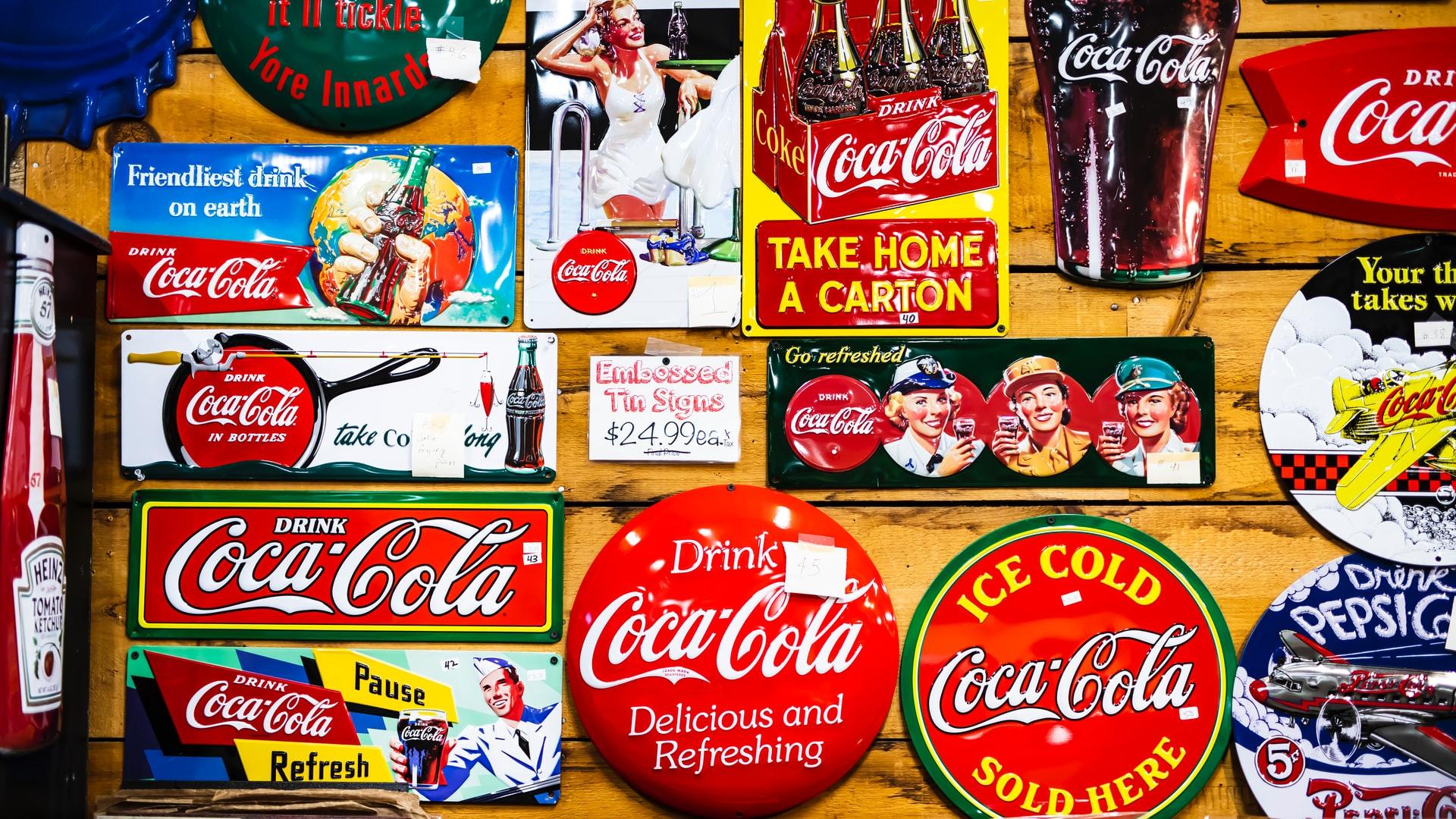 可口可乐营销广告历史